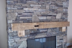 Reclaimed Timber Mantle