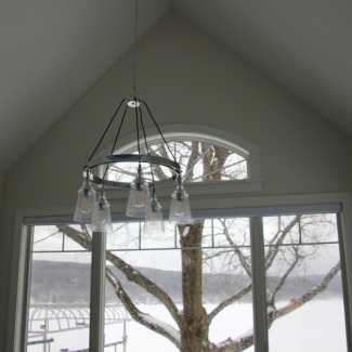 Windows & Light Fixture